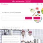 $4 off ($10 Min Spend) on First 3 Pickup Orders at foodpanda