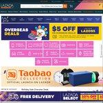 $5 off Overseas Deals at Lazada ($15 Minimum Spend)