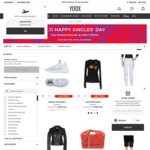 YOOX.com Singles Day Promo - 50% off Top Brands