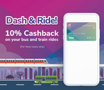 10% Cashback on Bus & Train Rides with Singtel Dash (New Transit Users)
