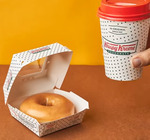 Doughnut and Handcrafted Beverage for $6.50 (U.P. $9.30) at Krispy Kreme