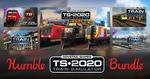 [PC, Steam] Train Simulator'20 Bundle  $1 USD (~$1.38 SGD) / BTA $5.29 USD (~$7 SGD) / Tier 3 $12 USD (~$17 SGD) @ Humble Bundle