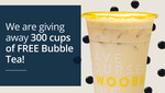 Free Cup of Bubble Tea with Pearls Delivered from PolicyPal (App Required, First 100 Daily)