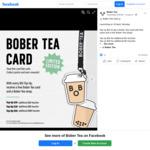 Top Up $20/$30/$50, Get a Bonus $3/$5/$10 Voucher at Bober Tea