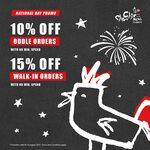 15% off Walk-In Orders at Chir Chir