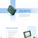 Free First Aid Kit from Acquion