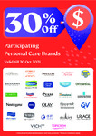 30% off Participating Personal Care Brands at Unity