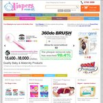12% off Nappies and Baby Products at Diapers.com.sg