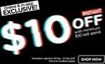 $10 off at Watsons eStore ($50 Minimum Spend)