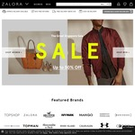 15% off Sitewide at Zalora ($90 Minimum Spend)