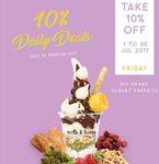 10% off DIY Grand Yogurt Parfaits at Milk & Honey (Raffles City)