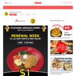 $1 Japanese Curry Rice 13 Dec @ Fujiyama Dragon Curry Tanjong Pagar via JPassport (JPassport Free Membership Req'd)