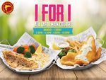 1 for 1 Ala Carte Main Courses at Manhattan Fish Market (Weekdays, 2.30pm to 4.30pm and 9pm to 10pm)