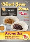 2x Wheat Germ Buns and 8oz Earl Grey Soya for $3.50 (U.P. $5) at QQ Rice