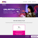 Free Unlimited Data Roaming in Malaysia & Indonesia with TPG Mobile