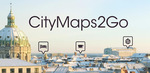 [Android/iOS] Free: City Maps 2Go Pro or Premium Offline Maps (U.P. $19.99/$26.99)