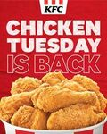 6 Pieces of Chicken for $9 (U.P. $20.10) at KFC