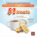 $1 Traditional Toast Set at Toast Box (SAFRA Members)