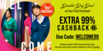 Extra 99% Cashback + Free Shipping On Everything at Zalora (New Customers, Via App)