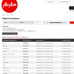 AirAsia FREE Seat Promotion (Just Pay Taxes)