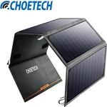 Get Extra 8% off Choetech Solar Charger for iPhone 7/ Samsung S8 - US $55.19 @ iChoeTech