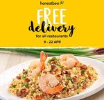 Free Delivery on All Orders via honestbee Food Delivery