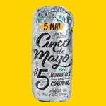 $5 Burritos, Bowls & Coronas at Guzman Y Gomez (Sunday 5th May)