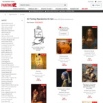 20% Off Selected Handmade Artworks + Free Shipping Sitewide - PaintingZ.com