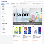 $8 off ($48 Min Spend) on Participating Kao Products at FairPrice