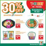 30% off Selected 7-Select Products ($2-$2.70) at 7-Eleven