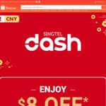 $8 off ($88 Min Spend) Sitewide at Shopee [Singtel Dash]