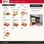 Free Piece of Shoyu Sansho Chicken (U.P. $3.70) with Any Order via KFC Delivery App
