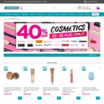 40% off Cosmetics at Watsons