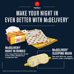 Free Sleeping Mask with $18 Minimum Spend at McDonald's (McDelivery)