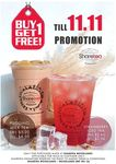 1 for 1 Pudding Milk Tea or Strawberry Iced Tea (from $2.50) at Sharetea