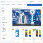 Free Handheld Steamer (Worth $79.90) with $99 Min Spend on Selected Oral-B Products at FairPrice On