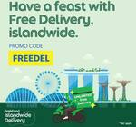 Free Delivery ($80 Min Spend) at GrabFood
