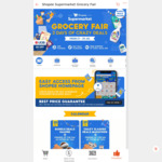$10 off ($100 Min Spend) at Shopee Supermarket