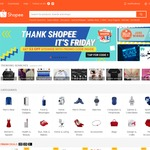 $3 off Sitewide at Shopee ($15 Minimum Spend)