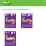Subway Coupons - Valid Till 10/10