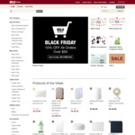 Muji Black Friday Sale - 10% off All Orders above $50 with Code Free Delivery Min Spend $50