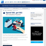 Spend $5, Get $3 Back Via Contactless Payment with American Express