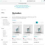 Buy 5 Get 45% off, Buy 3 Get 40% off or Buy 1 Get 35% off Sitewide at MYPROTEIN