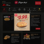 Regular Pizza for $0.99 at Pizza Hut ($15 Min Spend, Delivery Only, Weekdays)