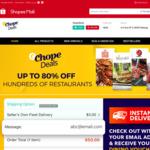 $10 off ($50 Min Spend) at Chope via Shopee