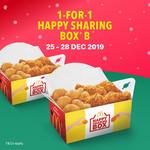 1 for 1 Happy Sharing Box B at McDonald's (via App)