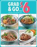 Pho Beef/Pork Tron/Beef Slices or Roasted Lemongrass Chicken with Rice for $6-$6.90 at Pho Street (Takeaway Only)