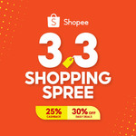 8% off ($10 Min Spend) or $10 off ($100 Min Spend) on Personal Care at Shopee