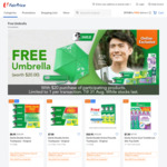 Free Umbrella with $20 Min Spend on Participating Darlie Products at FairPrice On