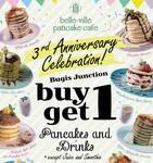 1 for 1 Pancakes & Drinks at Belle-ville (Bugis, Dine-In)